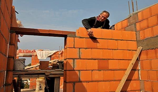 ساخت ساختمان با آجر سفال